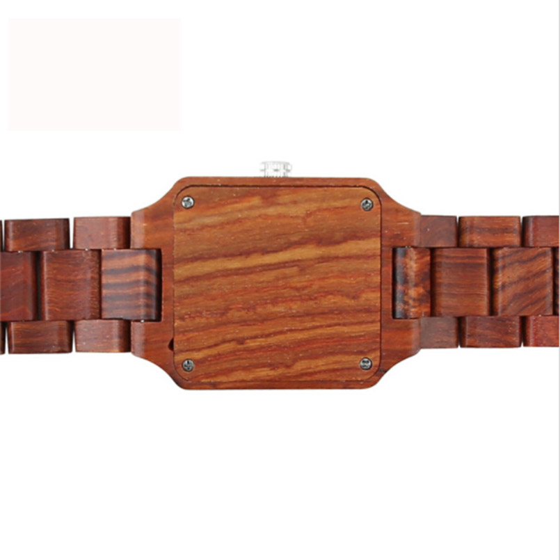 BEWELL luxe houten horloges met kalender mannen mode antieke quartz - Herenhorloges - Foto 3