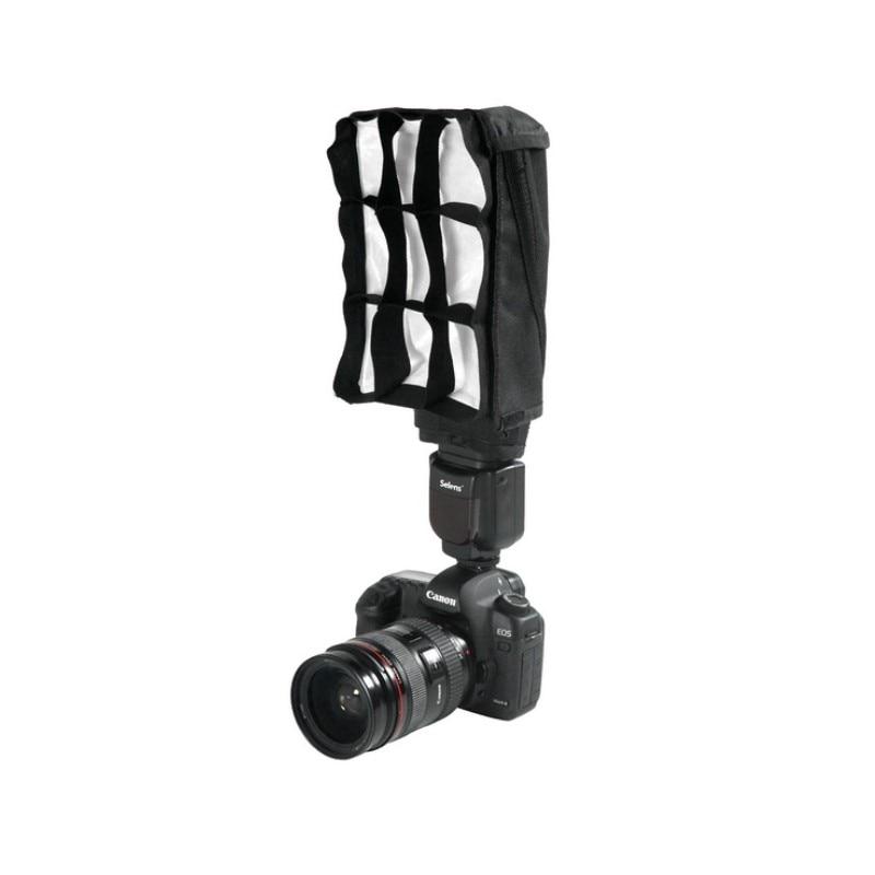 5 en 1 Speedlight Falsh set 3 x reflector de flash plegable + Snoot - Cámara y foto - foto 3