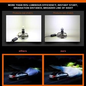 Image 3 - Lslight Led H4 H7 Lamp H11 H1 HB2 H8 H9 HB3 HB4 9005 9006 Led Auto Koplamp Phare Ampul Lamp 110W 12V/24V 6000 K 9600lm Auto