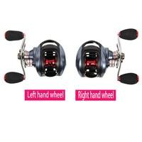 Left Right Hand Fishing Bait Casting Reel with One Way Clutch Magnetic Brake Wheel Trulinoya DW1000 10 plus 1 BB Ocean Lake