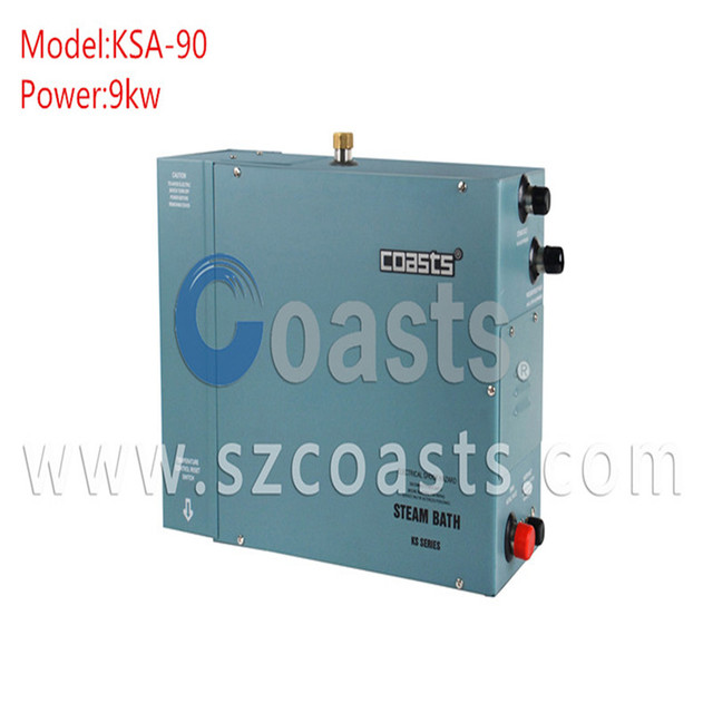 High Efficient Coasts 9 KW Steam Generator For Room With CE