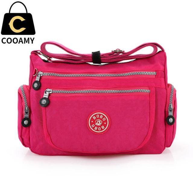 2017 New Waterproof Nylon Lady Shoulder Bag Female Messenger Bags Quality  Crossbody Bags For Women Fashion 3397a7acb338c