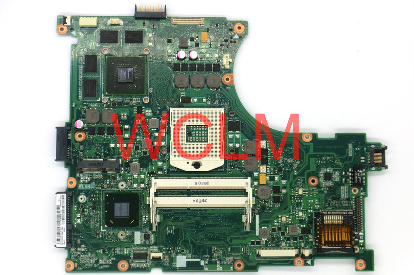 free shipping NEW original N56V N56VM motherboard MAIN BOARD MAINBOARD REV 2.3 60-N9JMB1300 N13P-GL-A1 100% Tested free shipping new original g55vw motherboard main board mainboard gt660m video card n13p ge a2 100% tested