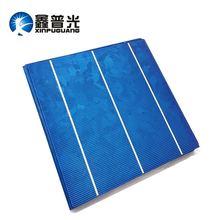 XINPUGUANG 25 шт. 156*153 мм 4,4 Вт солнечные элементы поликремниевый кремниевый фотоэлектрический модуль 19% эффективность DIY 100 Вт солнечная панель 0,5 В