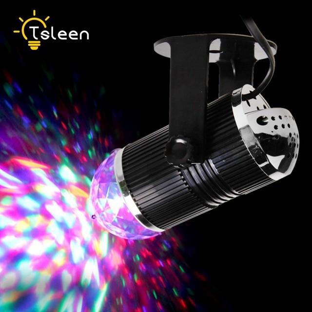 Goedkope 3 W DJ Licht RGB Veranderende Geluid Actived Crystal Magic ...