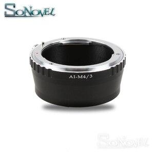 Image 2 - AI M4/3 lens adapter Suit For Nikon F AI to Micro 4/3 M4/3 Camera GH5 GH4 GM1 GX7 GX8 GF6 GH3 OM D E M1 E M5 E M10 E PEN E PL7