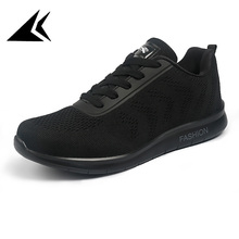 Skeches 2017 Flyknitlys Men Sport Running Shoes Breathable Superstar Black Lace-up Zapatilas Moda Hombre Cool Sneakers anoskis
