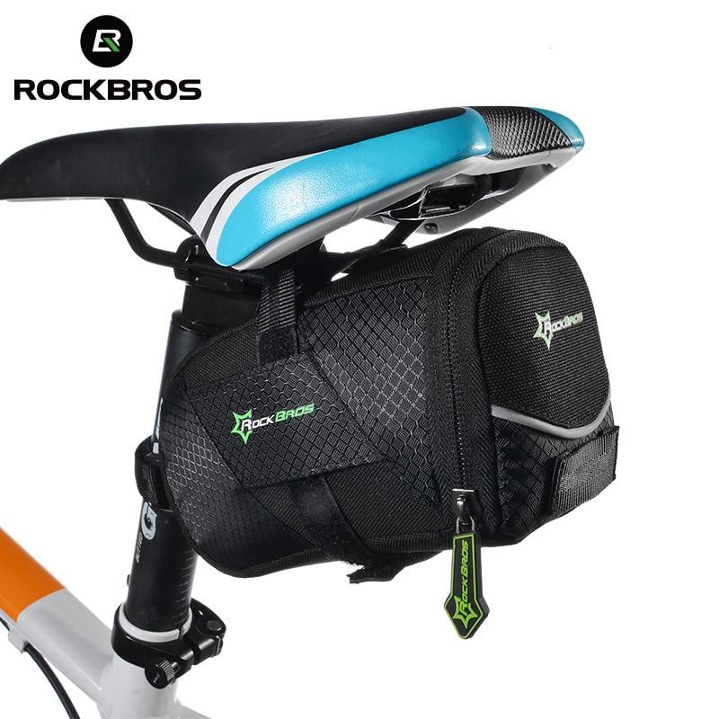 Rockbros bisiklet çantası mtb yol bisikleti spor kuyruk arka çanta bisiklet eyer seatpost çanta dağ bisikleti aksesuarları kese taşınabilir
