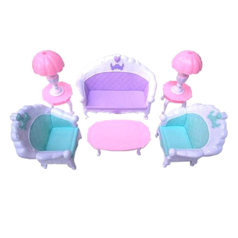 جديد كرسي متأرجح أريكة Baviphat اكسسوارات للدمية ديكورات منزلية ألعاب الأطفال Baviphat الأثاث مجموعات أثاث من البلاستيك