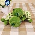 10 unids/lote 7 ''20 CM cute little turtle lindo animales de peluche con ty grandes ojos Tortuga muñecas regalo de los niños colgante regalos giveway