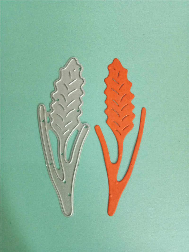 Swovo Spighe di Grano Foglie di Metallo Confine Fustelle Cut Fai da Te Craft Muore Scrapbooking per Il Fai da Te Alubm Photo Card Tagli Decorazioni