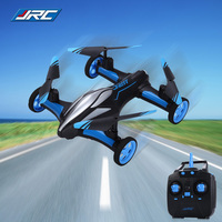 JJRC H23 RC Quadcopter Land Sky 2 In 1 6 Axis Gyro UFO Headless Mode Drones Dron Bright LED Lights Indoor Outdoor RC Helicopters