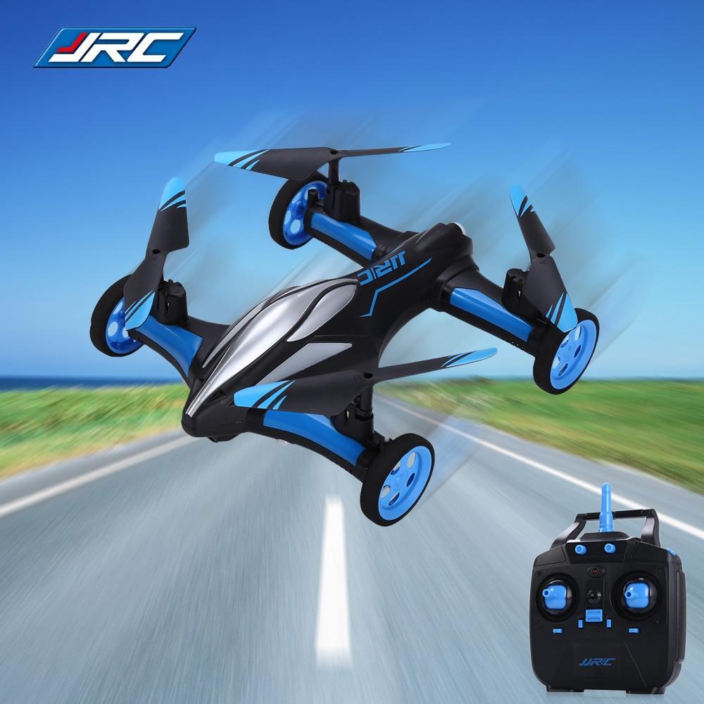 Original JJRC H23 2,4G 4CH 6-Axis Gyro aire-tierra coche volador RC Drone RTF Quadcopter con 3D Flip una tecla de modo de retorno sin cabeza