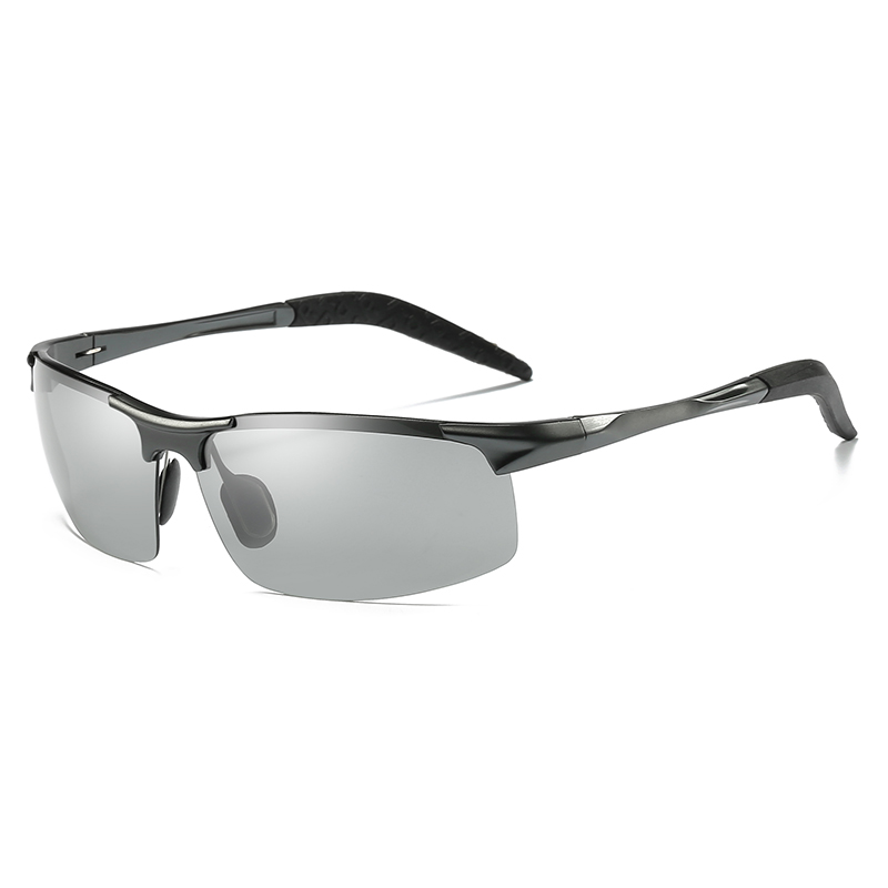 Image 3 - ZJHZQZ Mens UV400 Fishing Polarized Photochromatic Sunglasses Aluminium Magnesium Outdoor Driving Transition Chameleon LensMens Sunglasses   -