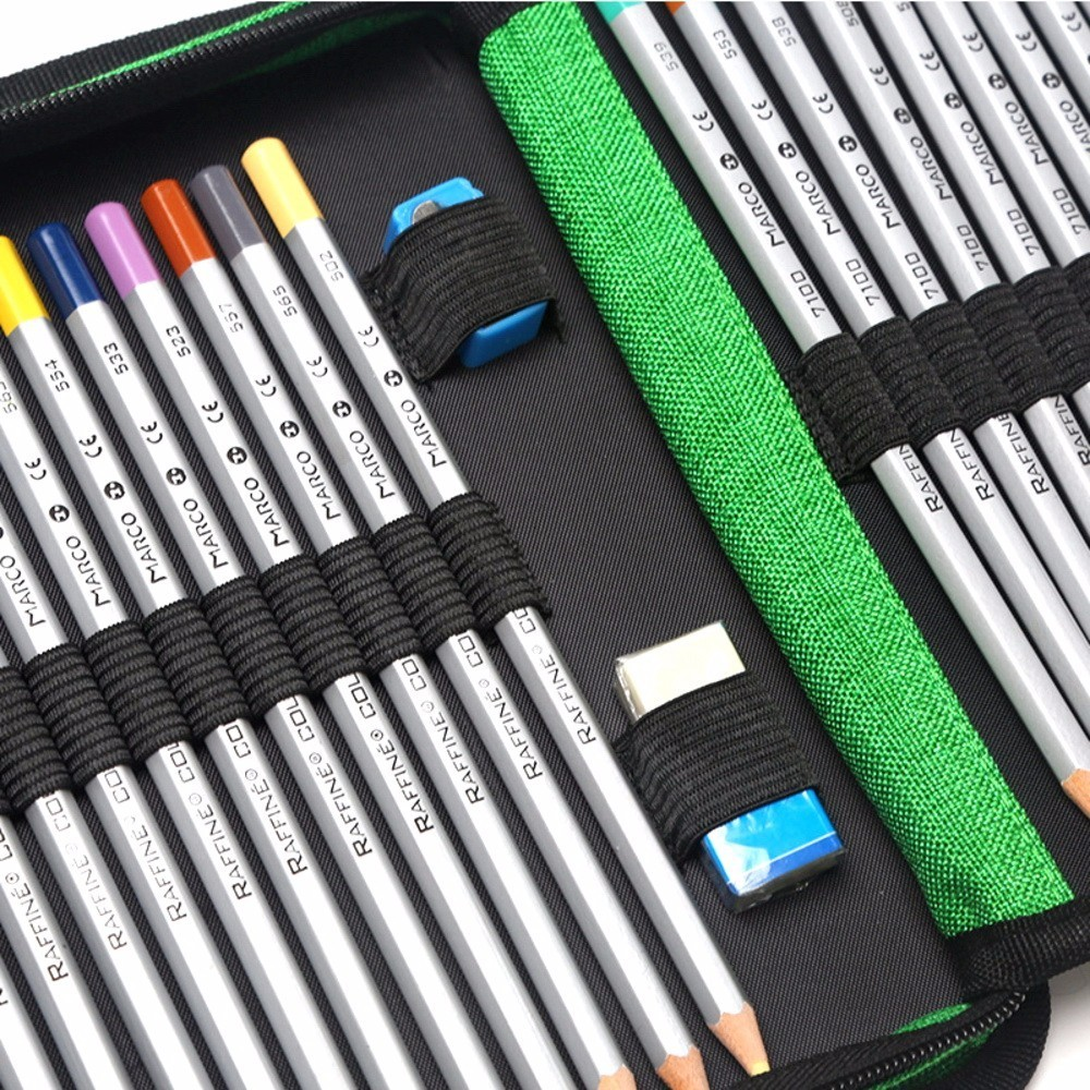 120 Holes Pencils Case School Large Portable PU Leather Capacity Pencil Bag rolling For Students Painting Sketch Art Supplies 120 holes pencils case school large portable pu leather capacity pencil bag for students painting sketch art supplies penalty