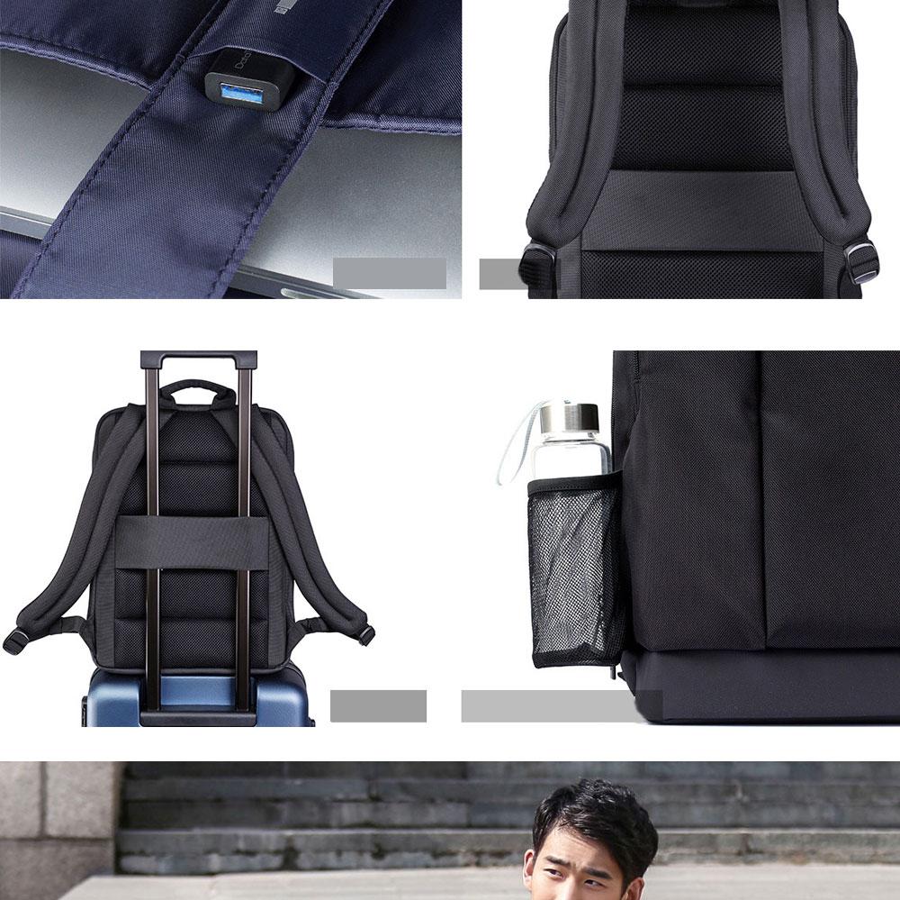 Original Xiaomi Backpack Classic Business Backpacks 17L Capacity Students  Laptop  Men Women Bag  For 15-inch Laptop OK (5)