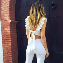 Backless Crop Tank Top