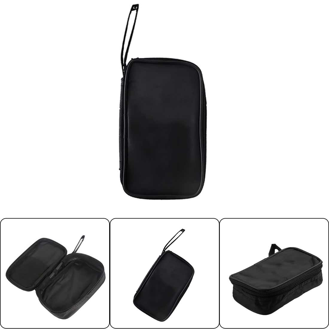 Multimeter Black Canvas Bag For UT61 Series Digital Multimeter Cloth Durable Waterproof Tools Bag 23x14x5cm