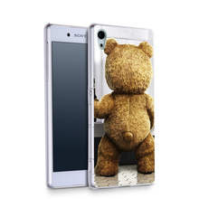 Ted Movie Beer Funny HD Wallpaper Plastic Protective Shell Skin Bag Case For Z5c z5 z2 z3 z4 Cases Hard Back Cover