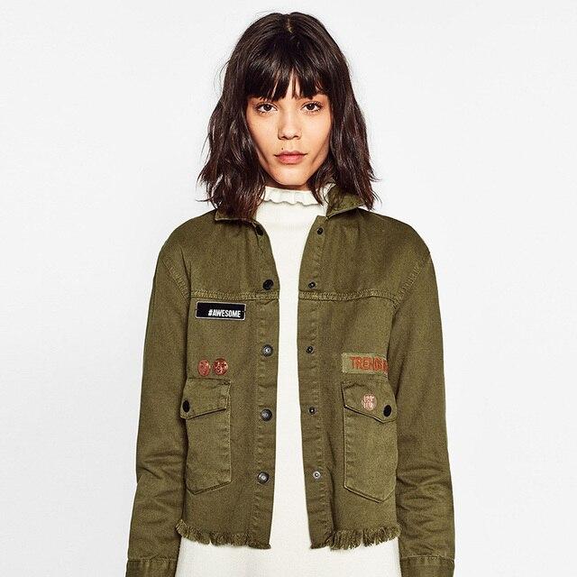 Aliexpress.com : Buy MUMUZI 2017 Autumn American Army Green Jacket ...