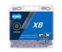 KMC X8 X9 X10 X10 X11 EPT Bike Chain 9S 10S 11S for MTB/Road Bike fo Shimano/SRAM 8 9 10 11 speed 116L /chain bike