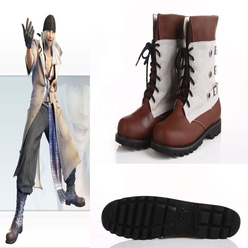 Final Fantasy 13- Snow Villiers Cosplay SHOES Custom