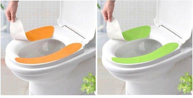 padded toilet seat cover. Latest Non Trace Adhesive Closestool Mat Disposable Toilet Seat Cover  Magic Cushion Pad Online Shop
