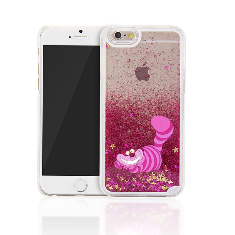 For iPhone 6 Case Alice in Wonderland Cheshire Cat Back