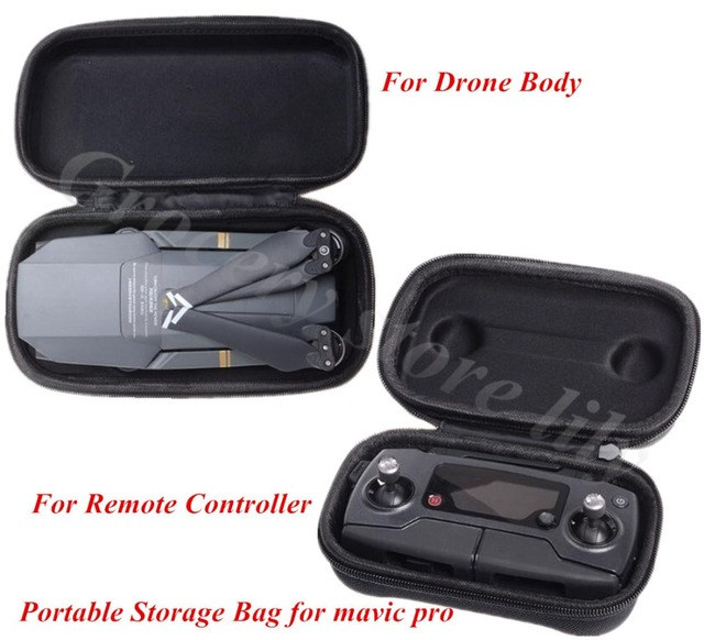 Портативный Hardshell Ящик Для Хранения Пульта Дистанционного Управления (Передатчик)/Drone Корпуса Мешок Защитный Чехол для MAVIC PRO