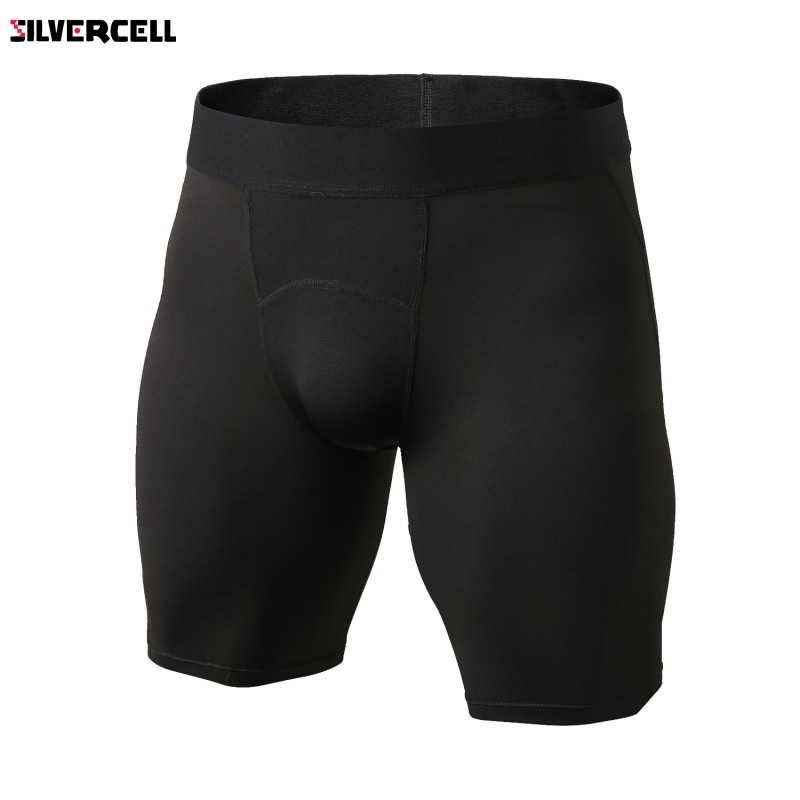 Men's Bodyboulding Short Pants Men's Compression Shorts Pants Professional Fitness quick-drying Short Pants men's Short Pants