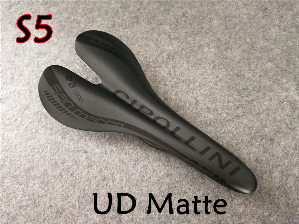 2db8f76832c Full carbon fiber 6 models for your selection 27cm 13.5cm Bicycle Saddle  CARROWTER Cipollini carbon road bike Seat -in Bicycle Saddle from Sports ...