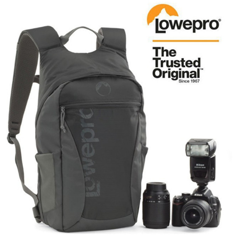 Fast shipping NEW Lowepro Photo Hatchback 22L AW shoulders camera bag Anti-theft package knapsack Weather Cover рюкзак lowepro photo hatchback bp 150 aw ii black grey 83541