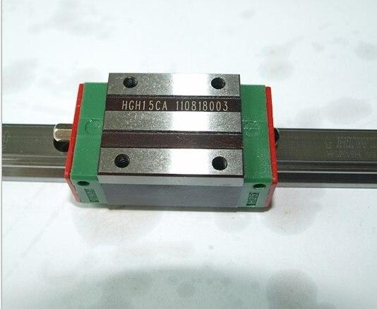 2pcs 100% original Hiwin HGR20-1700mm  and 4pcs HGH20CA narrow blocks  for cnc