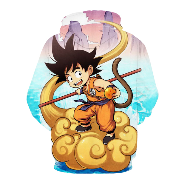 Anime Dragon Ball Z Hoodies Pullovers Sweatshirt