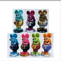 Встряхиватель кукла сумасшедшая мышь, Европа и Америка Мода культура в коробке Rat Fink