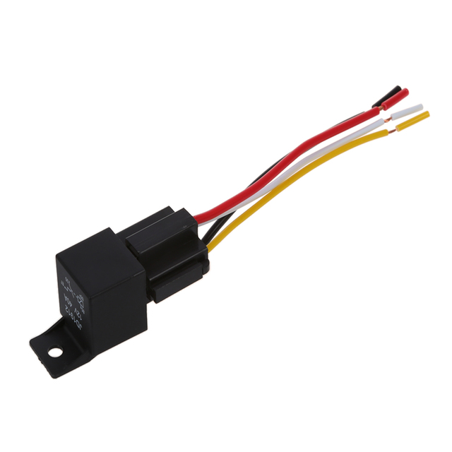 US $3.88 24% OFF|HHTL 2 x Car Relay Automotive Relay 12V 40A 4 Pin on