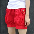 Женские летние короткие штаны, Модные шаровары, Короткие штаны-шаровары, летняя пляжная одежда, 5 цветов - фото