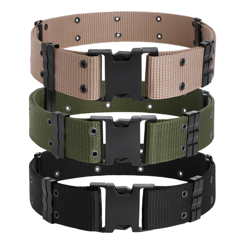 Student Military Training Belt Outdoor Belt Waist Belt