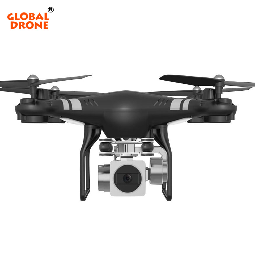Global Drone Profissional Long Flight Time Dron Wifi FPV Helicopter Headless Mode RC Drone With Camera HD 1080P VS SYMA X5C
