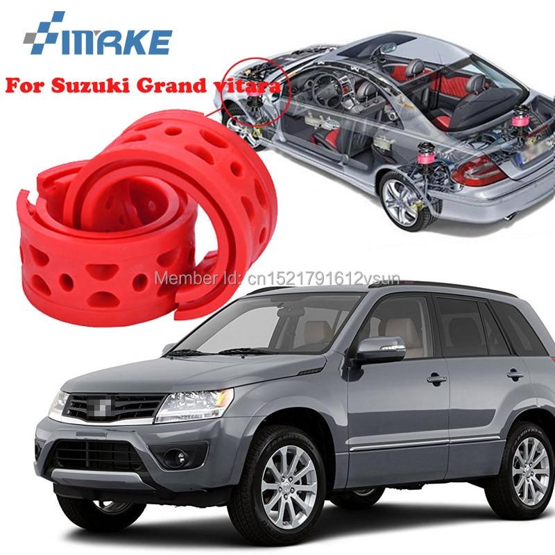 SmRKE Pour Suzuki Grand Vitara de Haute Qualité Avant/Arrière De Voiture Auto Ressort de L'amortisseur Bumper Power Cushion Tampon