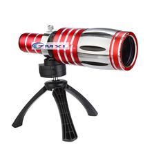 Telescopic 50x Zoom Optical Telephone Digital camera Lens Telephoto Lens Package With a Tripod Vast Angle Lens