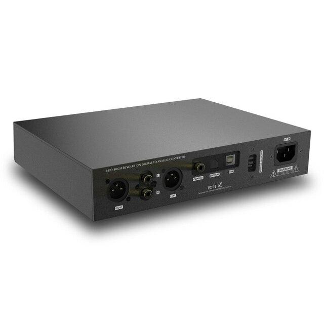 SMSL M10 AK4497 Chip Full balanced headphone amplifier& DAC Support DSD512 PCM768kHz USB Digital Decoder Power Amplifier 5