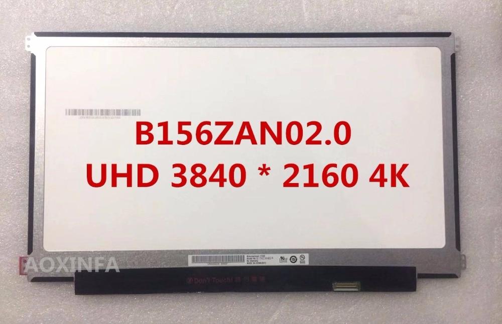 New original B156ZAN02.0 LQ156D1JW06 UHD 3840 * 2160 4K resolution ultra-high split LCD screen