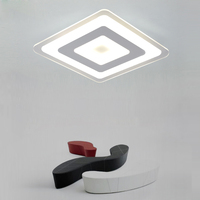 3 Color Dimming Remote Control Living Room Bedroom Modern Led Ceiling Lights Luminarias Para Sala Dimming