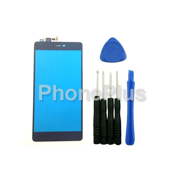 Frente outer touch screen painel de digitador de vidro substituição para xiaomi mi 4c mi4c
