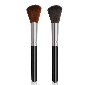 W proszku z pędzel do makijażu twarzy Powder Blush fundacja profesjonalne narzędzia do makijazu #1303 tanie i dobre opinie LAMUSELAND 1piece