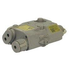 tactical PEQ 15 LA-5 Battery Case nylon for 20mm battery box + red laser black DE FG 487