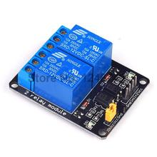 1PCS 2 Channel Relay Module 12V 2Channel Shield for Arduino Free Shipping
