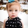Menina Roupa Do Bebê recém-nascido Do Bebê preto branco polk dot estilo Romper um pedaço bonito da criança do bebê t-shirt da menina