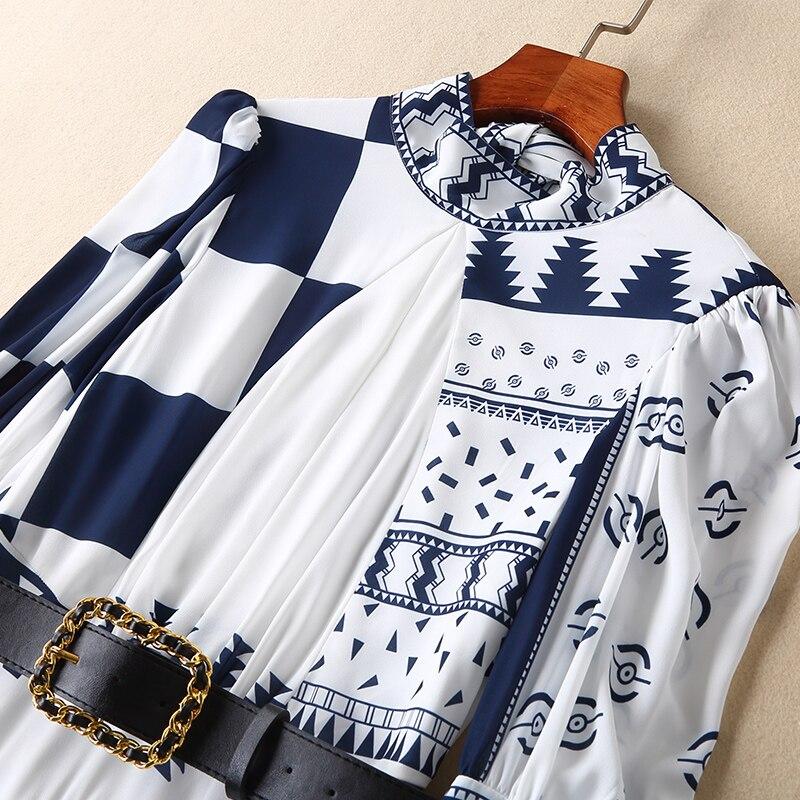 Femmes Design Marque De Fa02193 Printemps Luxe Nouvelle Partie 2019 Célèbre Mode Robe Style Qualité Supérieure Européenne FOwwqRInga
